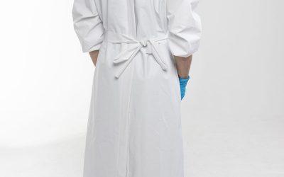 Bata blanca